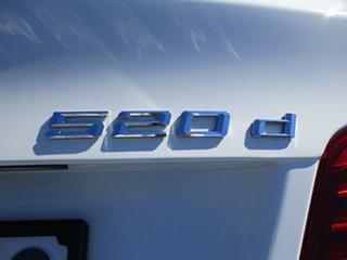 2013 BMW 5 Series F10 LCI 520d Steptronic M Sport White 8 Speed Sports Automatic Sedan