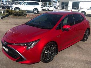 2020 Toyota Corolla ZWE211R ZR E-CVT Hybrid Red 10 Speed Constant Variable Hatchback Hybrid