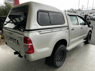 2013 Toyota Hilux KUN26R MY14 SR (4x4) Silver 5 Speed Manual Dual Cab Chassis
