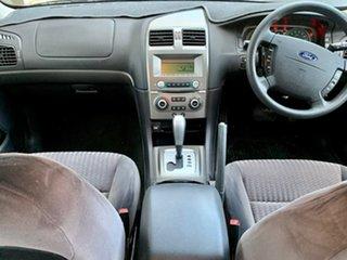 2005 Ford Falcon BA Mk II Futura Silver 4 Speed Sports Automatic Sedan