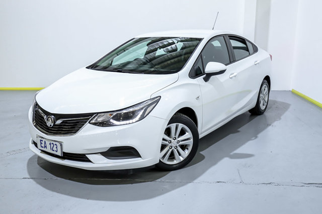Used Holden Astra BL MY17 LS+ Canning Vale, 2017 Holden Astra BL MY17 LS+ White 6 Speed Sports Automatic Sedan