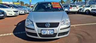 2006 Volkswagen Polo 9N MY2007 Match Silver 5 Speed Manual Hatchback.