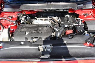 2013 Mitsubishi ASX XB MY13 2WD Red 6 Speed Constant Variable Wagon