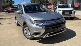 2021 Mitsubishi Outlander ZL MY21 ES AWD Sterling Silver 6 Speed Constant Variable Wagon.
