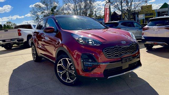 Demo Kia Sportage QL MY21 GT-Line AWD Toowoomba, 2021 Kia Sportage QL MY21 GT-Line AWD Fiery Red 6 Speed Sports Automatic Wagon