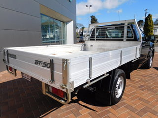 2015 Mazda BT-50 UP0YD1 XT 4x2 Black 6 Speed Manual Cab Chassis