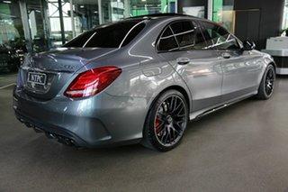 2017 Mercedes-Benz C-Class W205 808MY C63 AMG SPEEDSHIFT MCT S Grey 7 Speed Sports Automatic Sedan