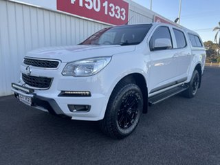 2014 Holden Colorado RG MY15 LT Crew Cab White 6 Speed Sports Automatic Utility