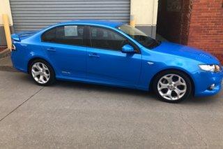 2011 Ford Falcon FG XR6 Limited Edition Blue 6 Speed Sports Automatic Sedan.