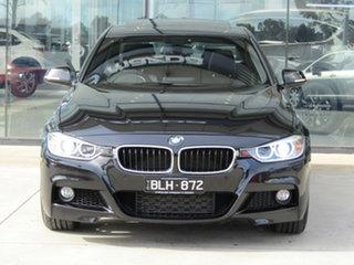 2014 BMW 3 Series F30 MY1114 335i M Sport Black 8 Speed Sports Automatic Sedan.