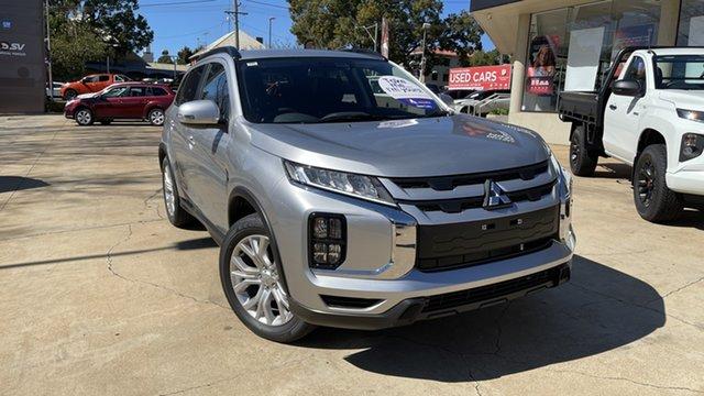 New Mitsubishi ASX XD MY21 ES Plus 2WD Toowoomba, 2021 Mitsubishi ASX XD MY21 ES Plus 2WD Sterling Silver 1 Speed Constant Variable Wagon