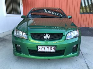 2010 Holden Commodore VE MY10 SV6 Green 6 Speed Sports Automatic Sedan.