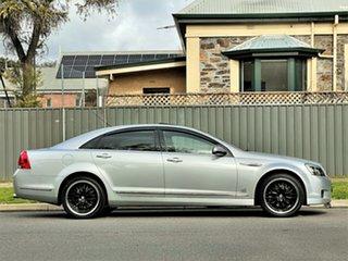 2011 Holden Caprice WM II V Silver 6 Speed Sports Automatic Sedan