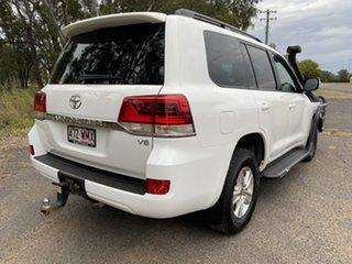 2016 Toyota Landcruiser VDJ200R MY16 GXL (4x4) Glacier White 6 Speed Automatic Wagon.