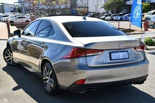 2017 Lexus IS ASE30R IS200t Luxury Silver 8 Speed Sports Automatic Sedan.