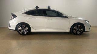 2017 Honda Civic MY17 VTi-LX White Continuous Variable Hatchback.