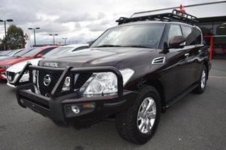 2013 Nissan Patrol Y62 TI-L Brown 7 Speed Sports Automatic Wagon.