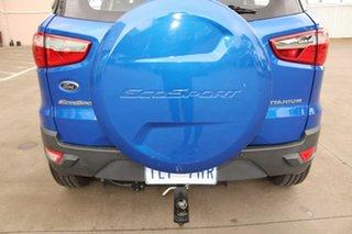 2017 Ford Ecosport BK Titanium 1.5 Blue 6 Speed Direct Shift Wagon