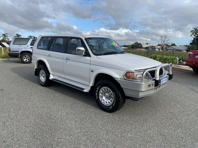 Used Mitsubishi Challenger PA-MY01 LS (4x4) Wangara, 2000 Mitsubishi Challenger PA-MY01 LS (4x4) White 4 Speed Automatic 4x4 Wagon