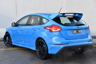 2017 Ford Focus LZ RS AWD Blue 6 Speed Manual Hatchback