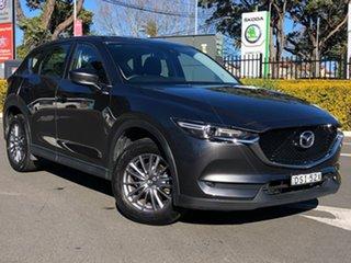 2017 Mazda CX-5 KF4WLA Maxx SKYACTIV-Drive i-ACTIV AWD Sport Grey 6 Speed Sports Automatic Wagon.