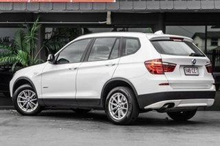2012 BMW X3 F25 MY0412 xDrive20i Steptronic White 8 Speed Automatic Wagon.