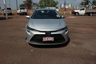 2019 Toyota Corolla ZWE211R Ascent Sport E-CVT Hybrid Silver Pearl 10 Speed 1 SP AUTOMATIC Sedan.