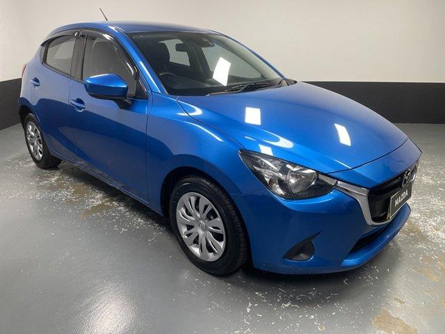 Used Mazda 2 DJ2HA6 Neo SKYACTIV-MT Hamilton, 2018 Mazda 2 DJ2HA6 Neo SKYACTIV-MT Dynamic Blue 6 Speed Manual Hatchback