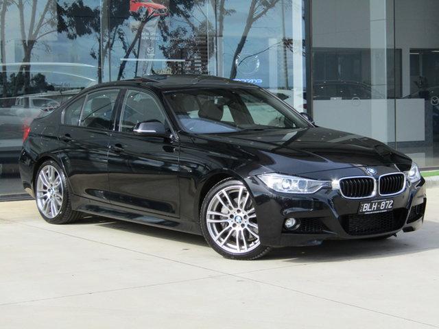 Used BMW 3 Series F30 MY1114 335i M Sport Ravenhall, 2014 BMW 3 Series F30 MY1114 335i M Sport Black 8 Speed Sports Automatic Sedan