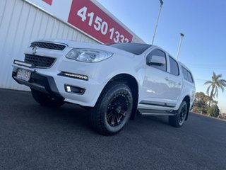 2014 Holden Colorado RG MY15 LT Crew Cab White 6 Speed Sports Automatic Utility.