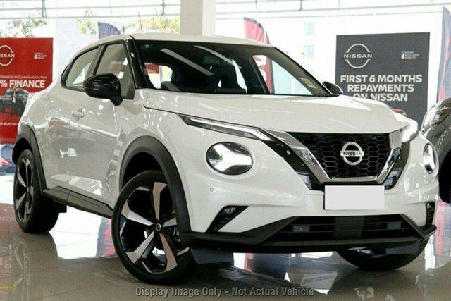 New Nissan Juke F16 ST-L Castle Hill, 2021 Nissan Juke F16 ST-L Ivory Pearl 7 Speed Auto Dual Clutch Hatchback