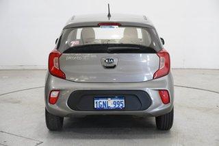 2018 Kia Picanto JA MY18 S Titanium Silver 4 Speed Automatic Hatchback