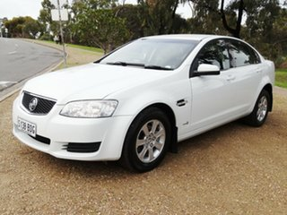 2011 Holden Commodore VE II Omega White 4 Speed Automatic Sedan.