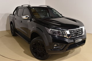 2017 Nissan Navara D23 S2 ST-X Black 7 Speed Sports Automatic Utility.