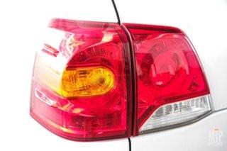 2013 Toyota Landcruiser VDJ200R MY13 Sahara (4x4) Crystal Pearl 6 Speed Automatic Wagon
