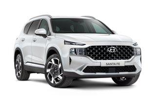 2021 Hyundai Santa Fe Tm.v3 MY21 Elite Glacier White 8 Speed Automatic Wagon