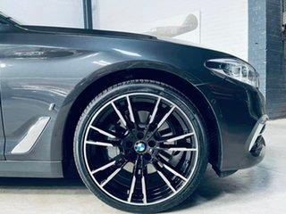 2017 BMW 5 Series G30 530e Steptronic Luxury Line Black 8 Speed Sports Automatic Sedan Hybrid.