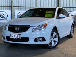2013 Holden Cruze JH Series II MY13 Equipe White 5 Speed Manual Hatchback.