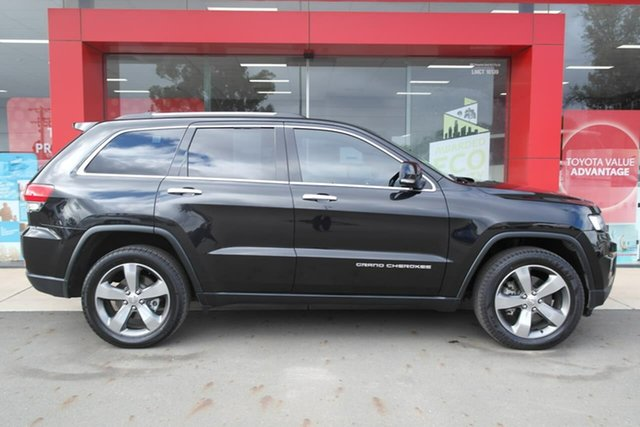 Used Jeep Grand Cherokee WK MY15 Limited Swan Hill, 2015 Jeep Grand Cherokee WK MY15 Limited Black 8 Speed Sports Automatic Wagon