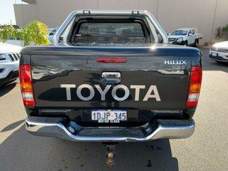 2010 Toyota Hilux KUN26R MY10 SR5 Black 4 Speed Automatic Utility.