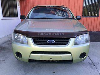 2005 Ford Territory SX TX Green 4 Speed Sports Automatic Wagon.