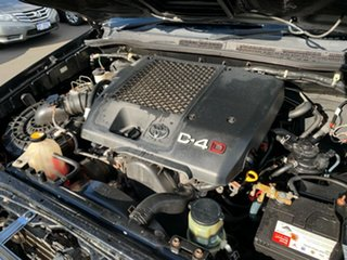 2010 Toyota Hilux KUN26R MY10 SR5 Black 4 Speed Automatic Utility