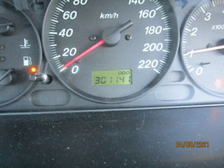 2001 Ford Laser KN LXI Blue 4 Speed Automatic Hatchback