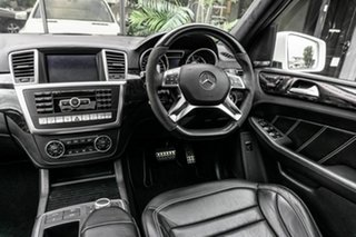 2013 Mercedes-Benz M-Class W166 ML63 AMG SPEEDSHIFT DCT White 7 Speed Sports Automatic Dual Clutch
