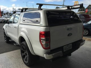 2015 Ford Ranger PX XLT 3.2 (4x4) White 6 Speed Manual Double Cab Pick Up