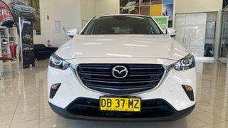 2018 Mazda CX-3 DK2W76 Maxx SKYACTIV-MT FWD Sport White 6 Speed Manual Wagon.