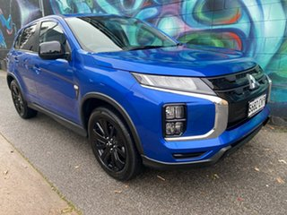 2021 Mitsubishi ASX XD MY21 MR 2WD Lightning Blue 1 Speed Constant Variable Wagon.