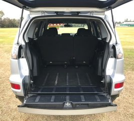 2011 Mitsubishi Outlander ZH MY12 LS 2WD Silver 6 Speed Constant Variable Wagon