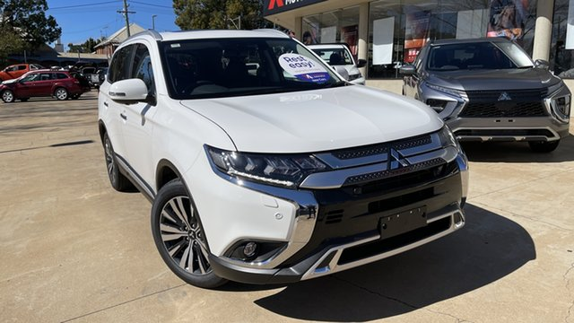 New Mitsubishi Outlander ZL MY21 Exceed AWD Toowoomba, 2021 Mitsubishi Outlander ZL MY21 Exceed AWD White 6 Speed Sports Automatic Wagon