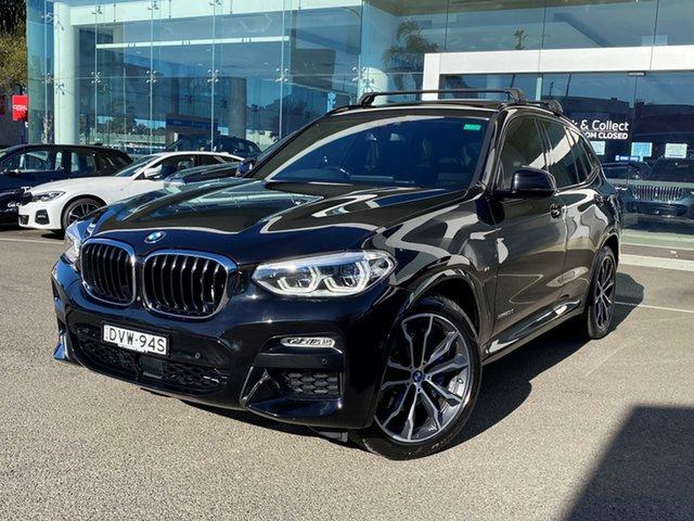 Used BMW X3 G01 xDrive30d M Sport Brookvale, 2017 BMW X3 G01 xDrive30d M Sport Black Sapphire 8 Speed Automatic Wagon